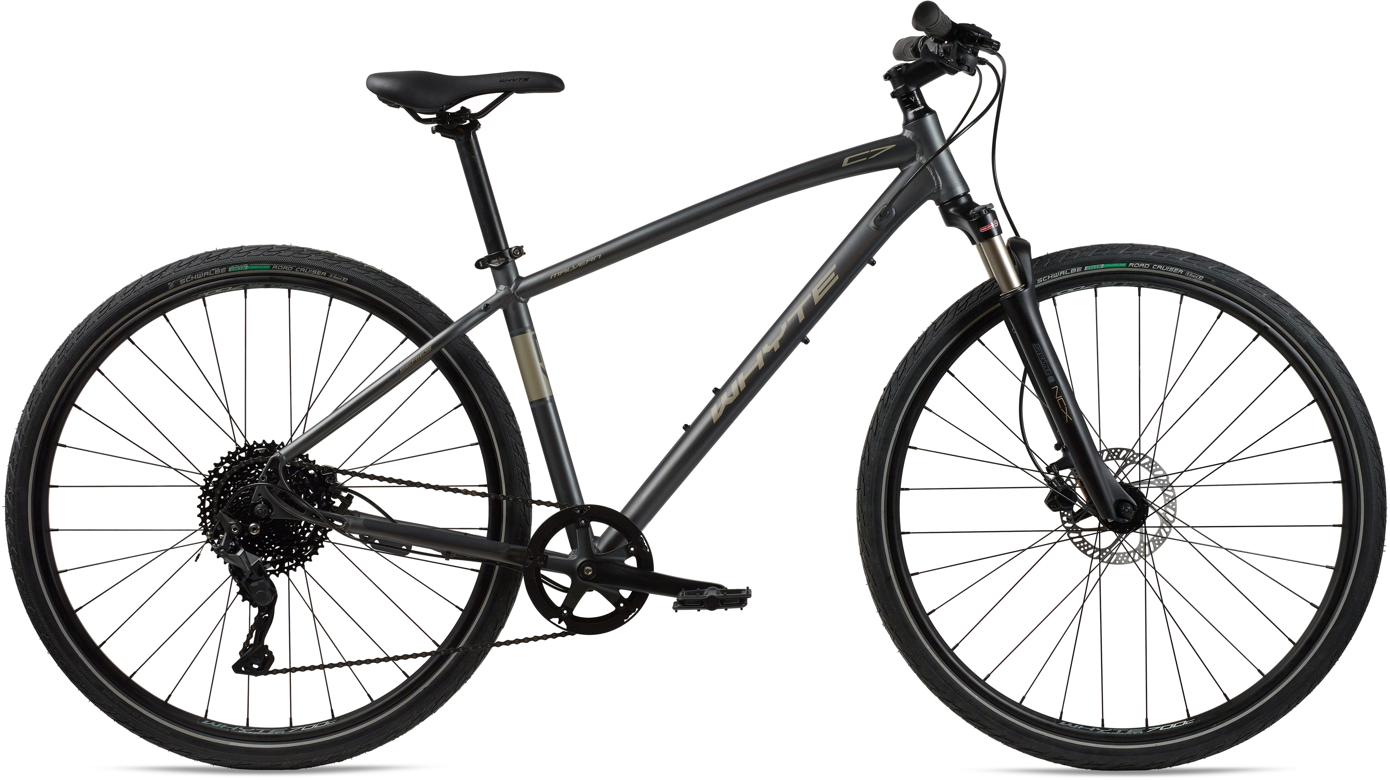 Whyte Bikes Crossrad, Kettenschaltung grau Crossräder Fahrräder Zubehör Fahrrad