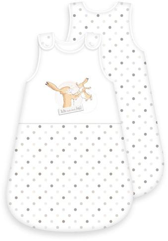 Weißt du eigentlich, wie lieb ... Babyschlafsack »Weißt du eigentlich wie lieb ich dich hab?«, (1 tlg.) kaufen