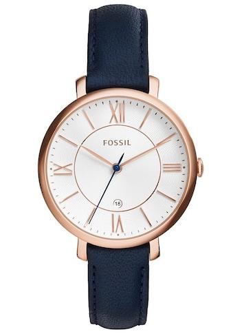 Fossil Quarzuhr »JACQUELINE, ES3843« kaufen