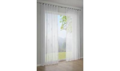 Vorhang, »Voile - Flock«, GARDINIA, Schlaufen 1 Stück kaufen