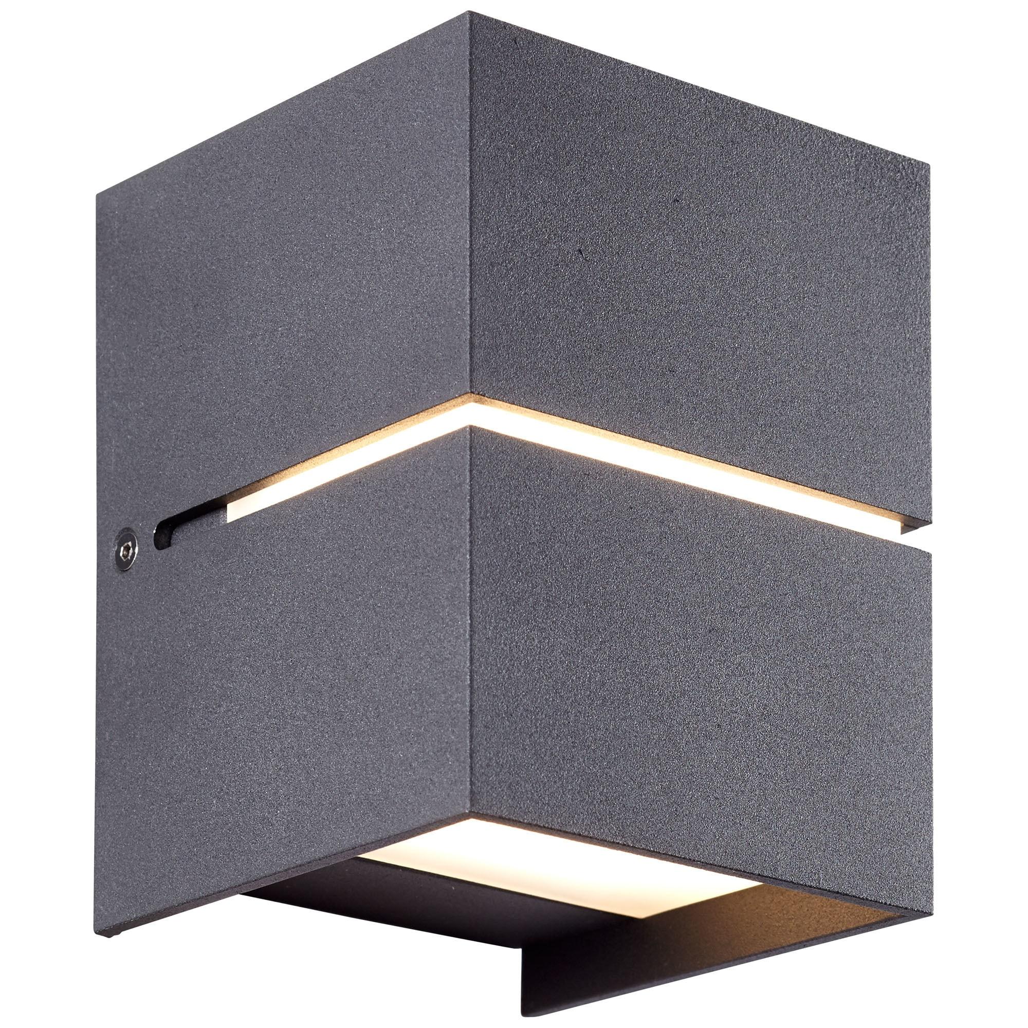 AEG Ania LED Wandleuchte schwarz
