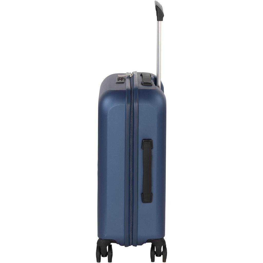 Hardware Hartschalen-Trolley »IMPACT S 4R, deep ocean«, 4 Rollen