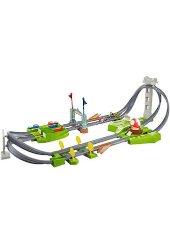 Hot Wheels Autorennbahn »Mario Kart Mario Rundkurs Trackset«, inkl. 2 Spielzeugautos kaufen
