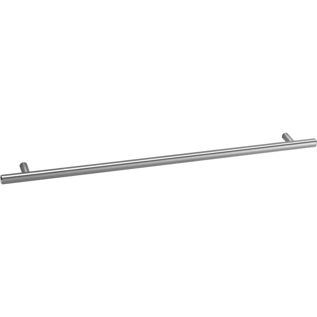 OPTIFIT Winkelküche »Bern«, mit E-Geräten, Stellbreite 265 x 175 cm, mit höhenverstellbaren Füßen, gedämpfte Türen und Schubkästen, Metallgriffe