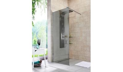 WELLTIME Walk - In Dusche »Duschabtrennung«, Breite 80 cm, Grauglas kaufen