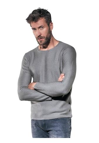 emilio adani Rundhalspullover, aus weicher Wolle kaufen