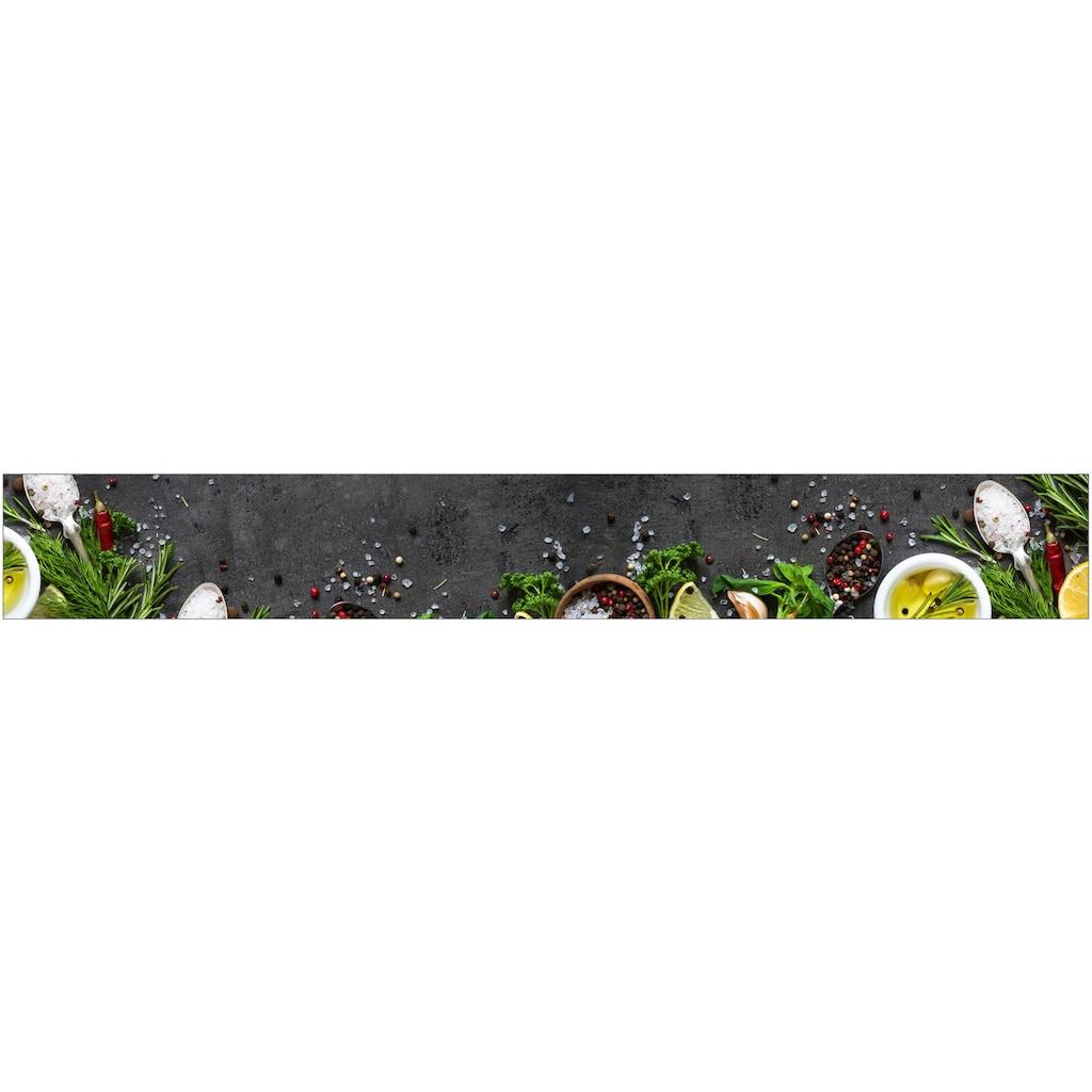 MySpotti Küchenrückwand »fixy Mario«, selbstklebende und flexible Küchenrückwand-Folie