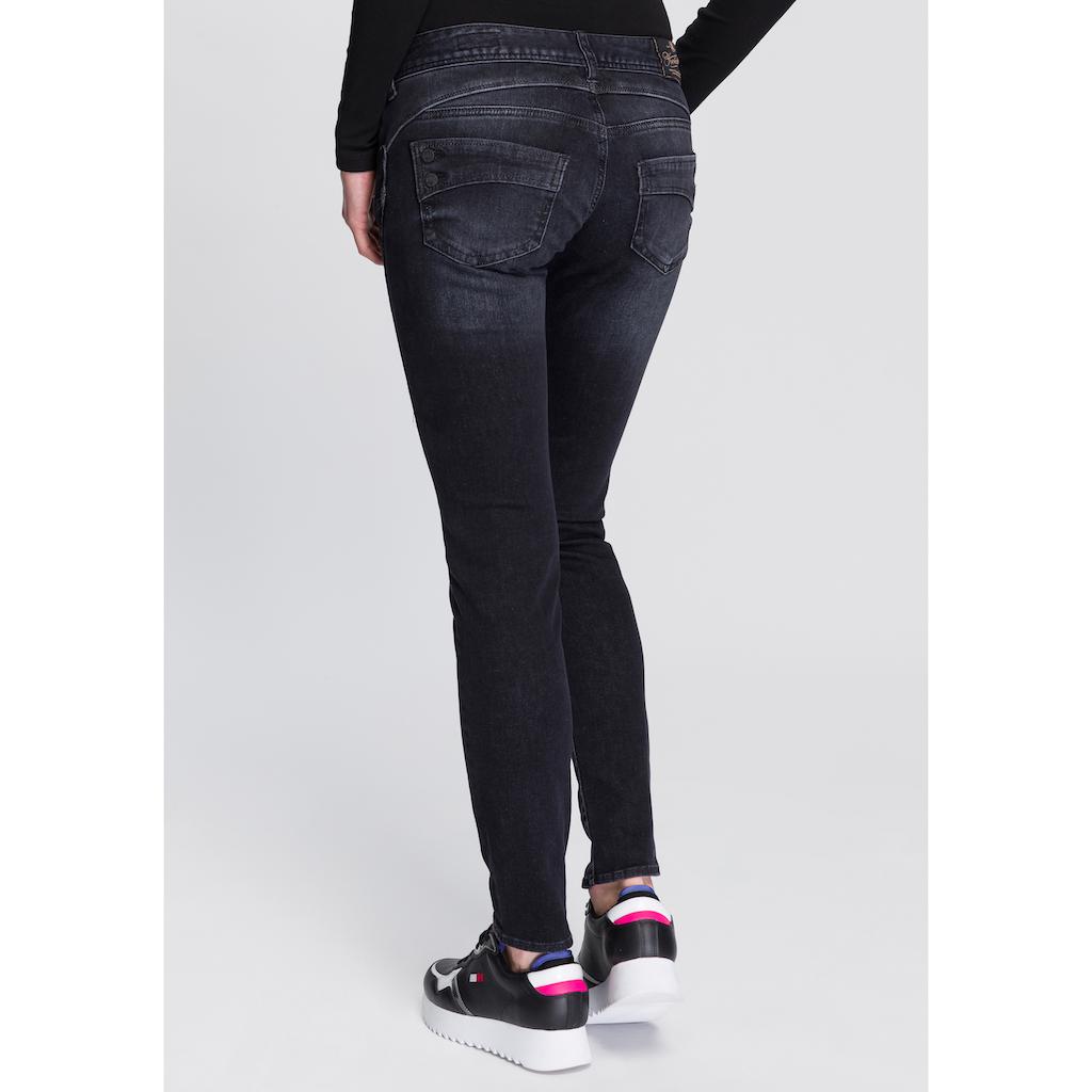 Herrlicher Slim-fit-Jeans »PIPER SLIM REUSED«, umweltfreundlich dank der ISKO New Technology