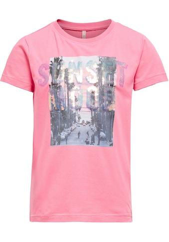 KIDS ONLY T-Shirt »KONLUX«, mit großem Druckmotiv kaufen