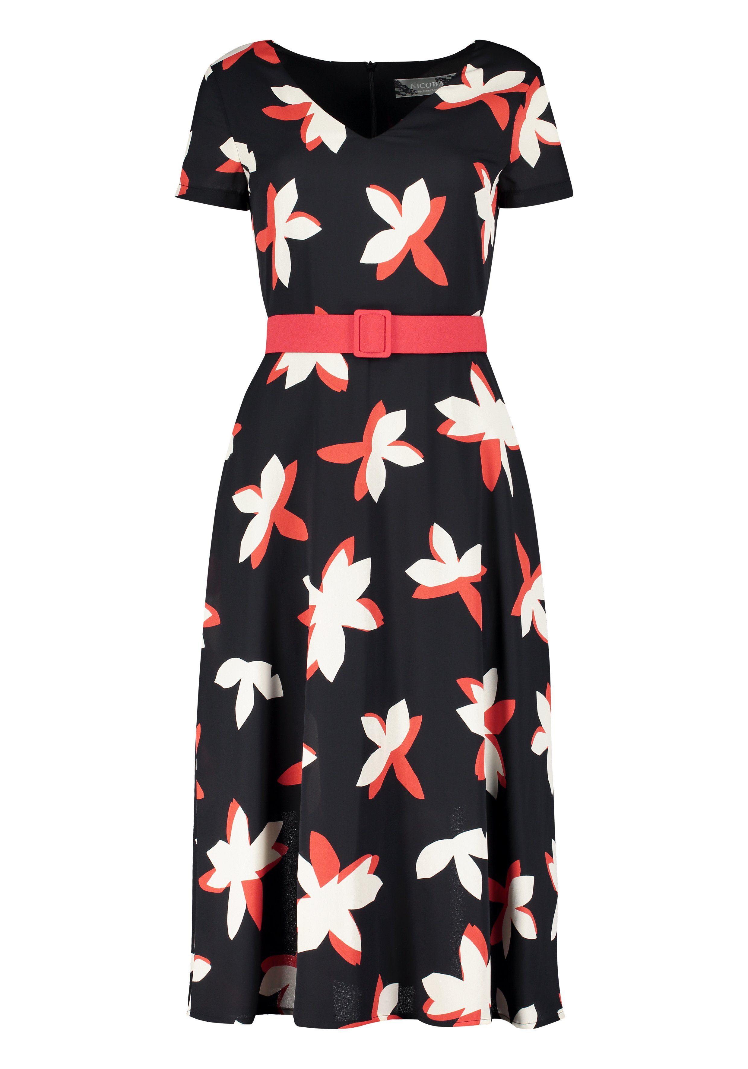 Nicowa Feminines A-Linien-Kleid EGILIAINA
