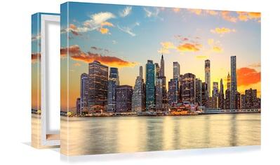 Conni Oberkircher´s Bild »Big City 3  -  Sunset« kaufen