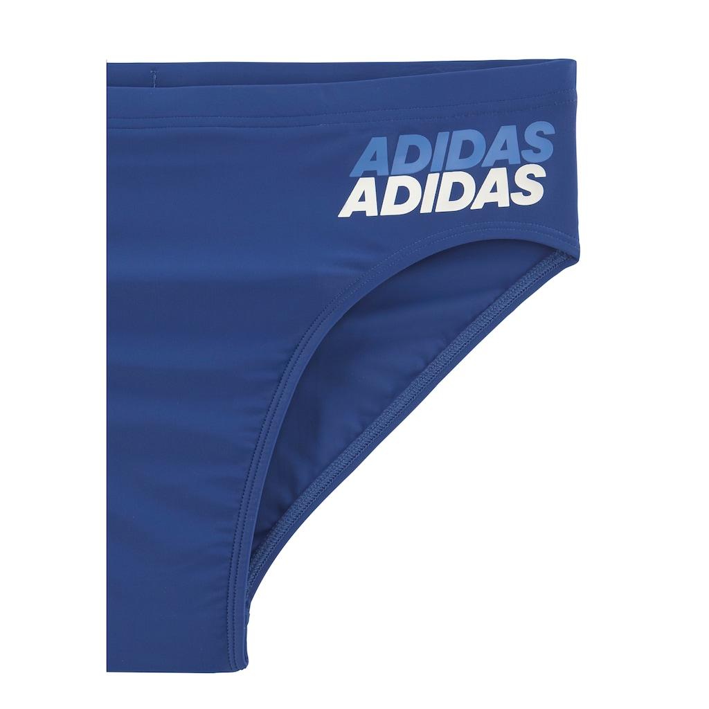 adidas Performance Badehose, mit Logodruck