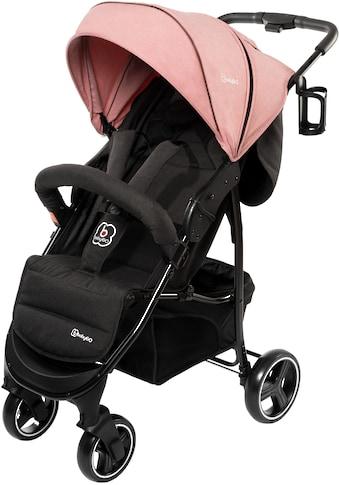 BabyGo Sport-Kinderwagen »Basket, Pink melange«, Buggy kaufen