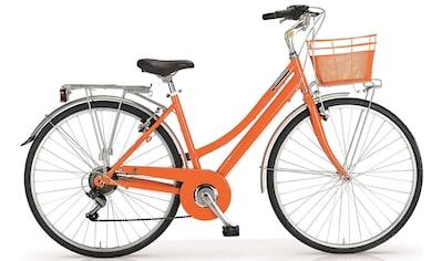 MBM Trekkingrad »New Central«, 6 Gang Shimano TY 21 Schaltwerk, Kettenschaltung kaufen