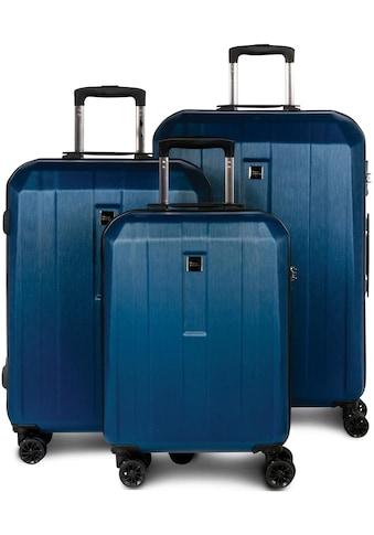 """fabrizio® Trolleyset """"Gateway, blau"""", 4 Rollen, (3tlg.) kaufen"""