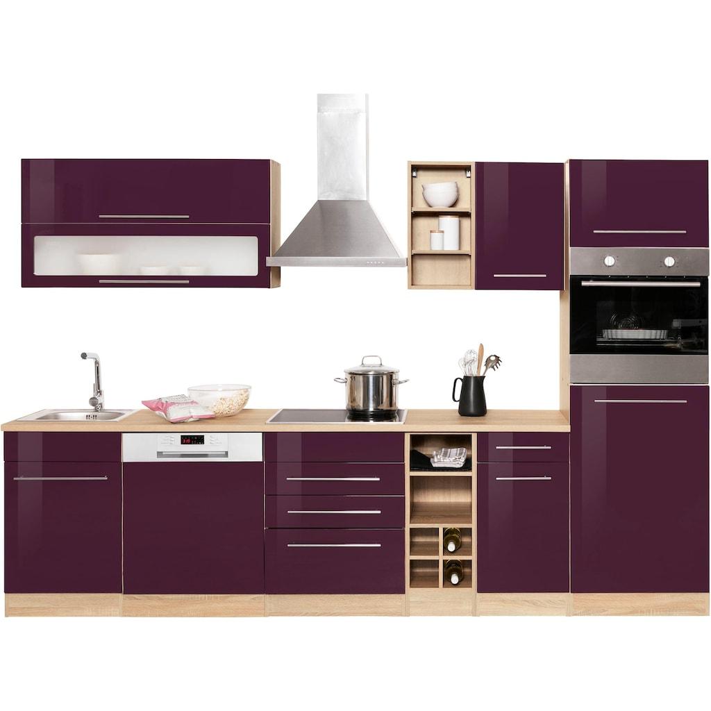 HELD MÖBEL Küchenzeile »Eton«, ohne E-Geräte, Breite 300 cm