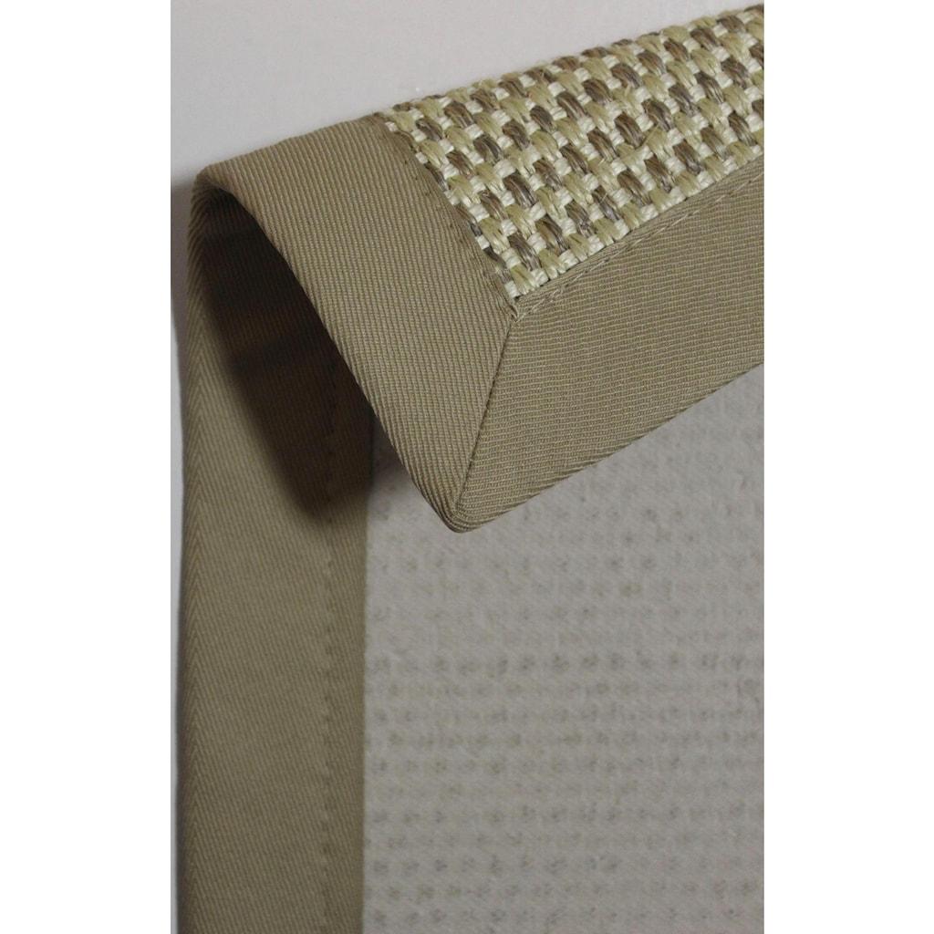 Dekowe Sisalteppich »Brasil«, rechteckig, 10 mm Höhe, Obermaterial: 100% Sisal, Wunschmaß, Wohnzimmer