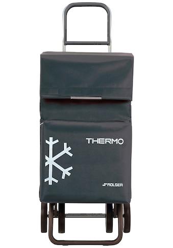 Rolser Einkaufstrolley »Dos+2 Thermo Fresh«, mit Thermofach, 4 Rollen kaufen