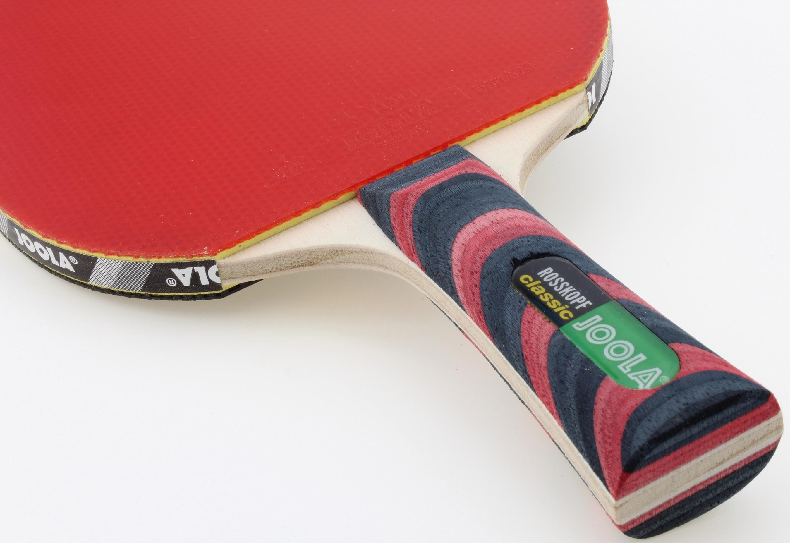 Joola Tischtennisschläger Rosskopf Classic (Packung 2-tlg mit Schlüsselanhänger) Technik & Freizeit/Sport & Freizeit/Sportarten/Tischtennis/Tischtennis-Ausrüstung