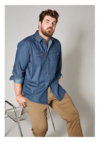 Men Plus by Happy Size Jeanshemd kaufen