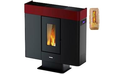 FREEPOINT Pelletofen »Moon airtight«, Stahl, 10 kW, Dauerbrand, inkl. 15 kg Firestixx Holzpellets kaufen