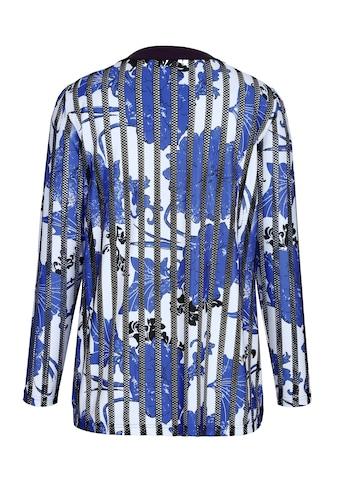 m. collection Shirtjacke im edlem floralem Druckdessin kaufen