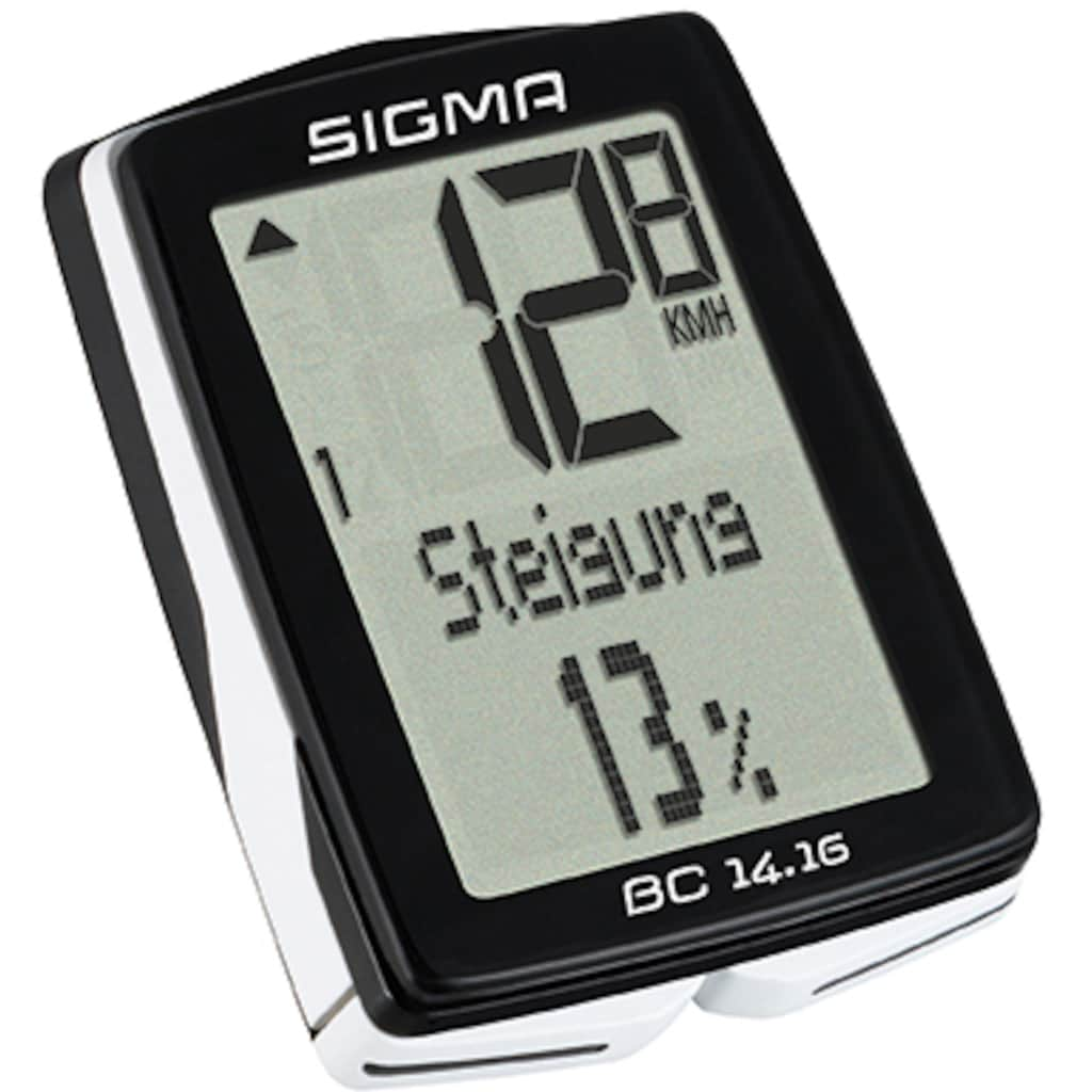 SIGMA SPORT Fahrradcomputer »BC 14.16«