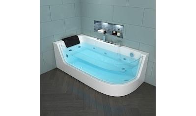 "HOME DELUXE Whirlpool - Badewanne ""Carica"" (4 - tlg.) kaufen"