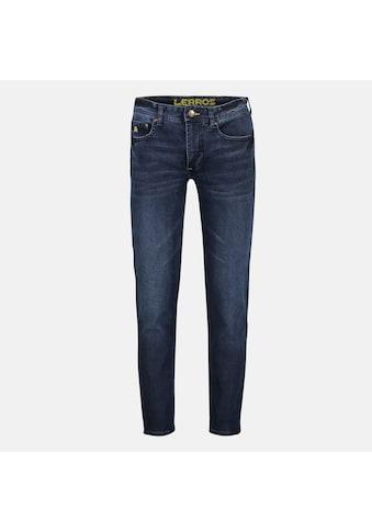 LERROS Stretch-Jeans »JAN«, in Used-Optik, Highlight: Handy-Stecktasche kaufen