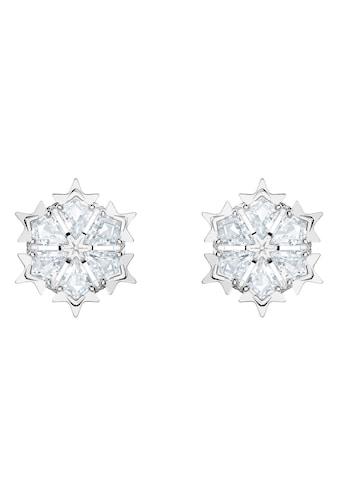 Swarovski Paar Ohrstecker »Magic, weiss, rhodiniert, 5428430« kaufen