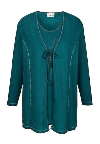 MIAMODA Twinset aus Shirtjacke und Top kaufen