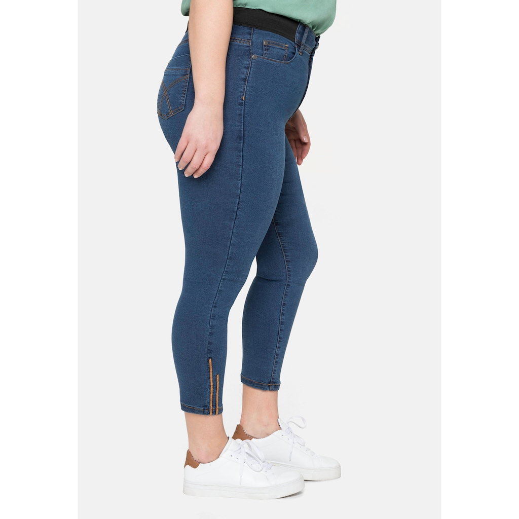 Sheego Stretch-Jeans, in 7/8-Länge, »Ultimate Stretch«, wächst bis 3 Gr. mit