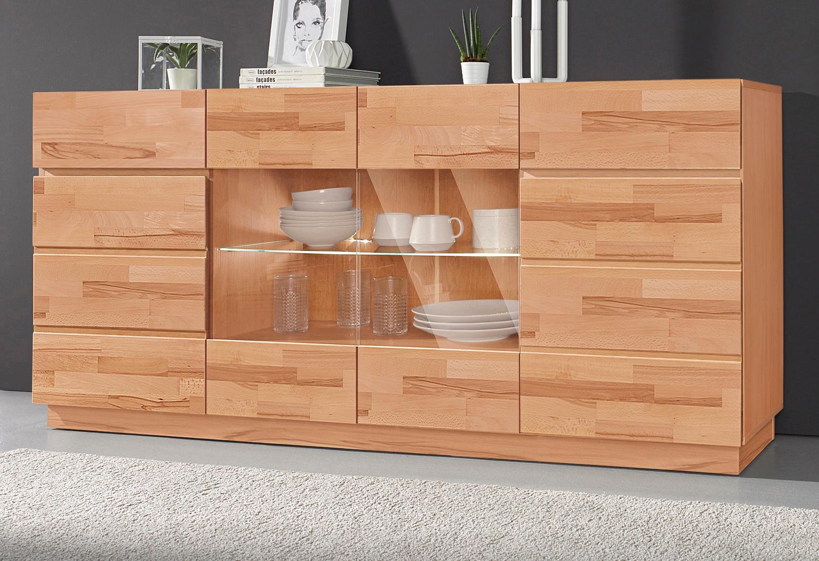 Sideboard Breite 180 cm mit 4 Türen
