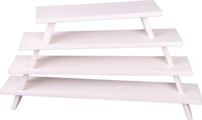 Weigla Schwibbogen-Fensterbank, aus Buchenholz, weiß-lackiert,Höhe ca. 11 cm kaufen