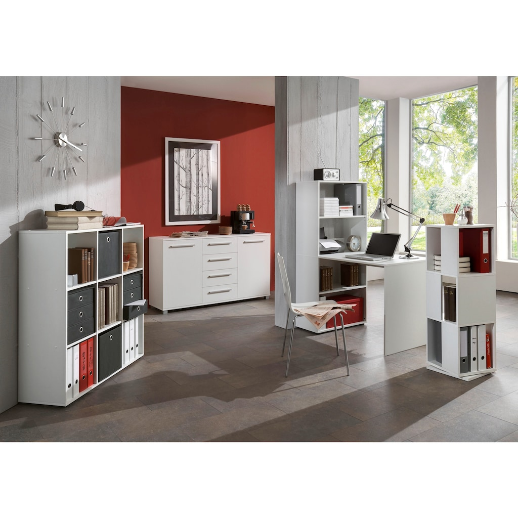 FMD Raumteilerregal »Mega 5«, mit 9 Fächern