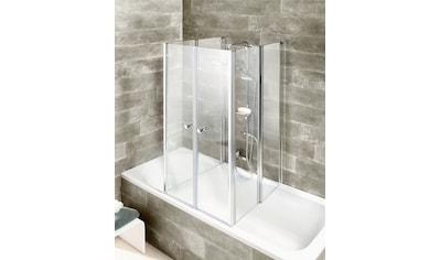 WELLTIME Badewannenaufsatz »6 - teilig«, Faltwand kaufen