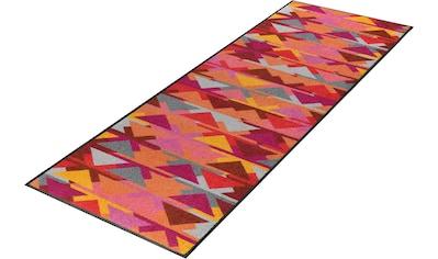 Läufer, »Karim«, wash+dry by Kleen - Tex, rechteckig, Höhe 7 mm, gedruckt kaufen