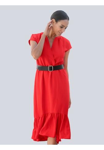 Alba Moda Strandkleid, mit schwarzem Gürtel kaufen
