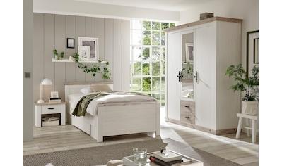 Home affaire Schlafzimmer-Set »Florenz«, (ab Bettgröße 140cm. sind 2 Nachttische enthalten), in 3 verschiedenen Ausführungen kaufen
