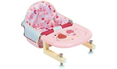 Baby Annabell Puppen-Tischsitz »Lunch Time« kaufen