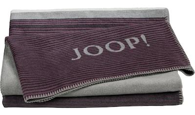 Joop! Wohndecke »Horizon«, mit dekorativem JOOP! Logo kaufen