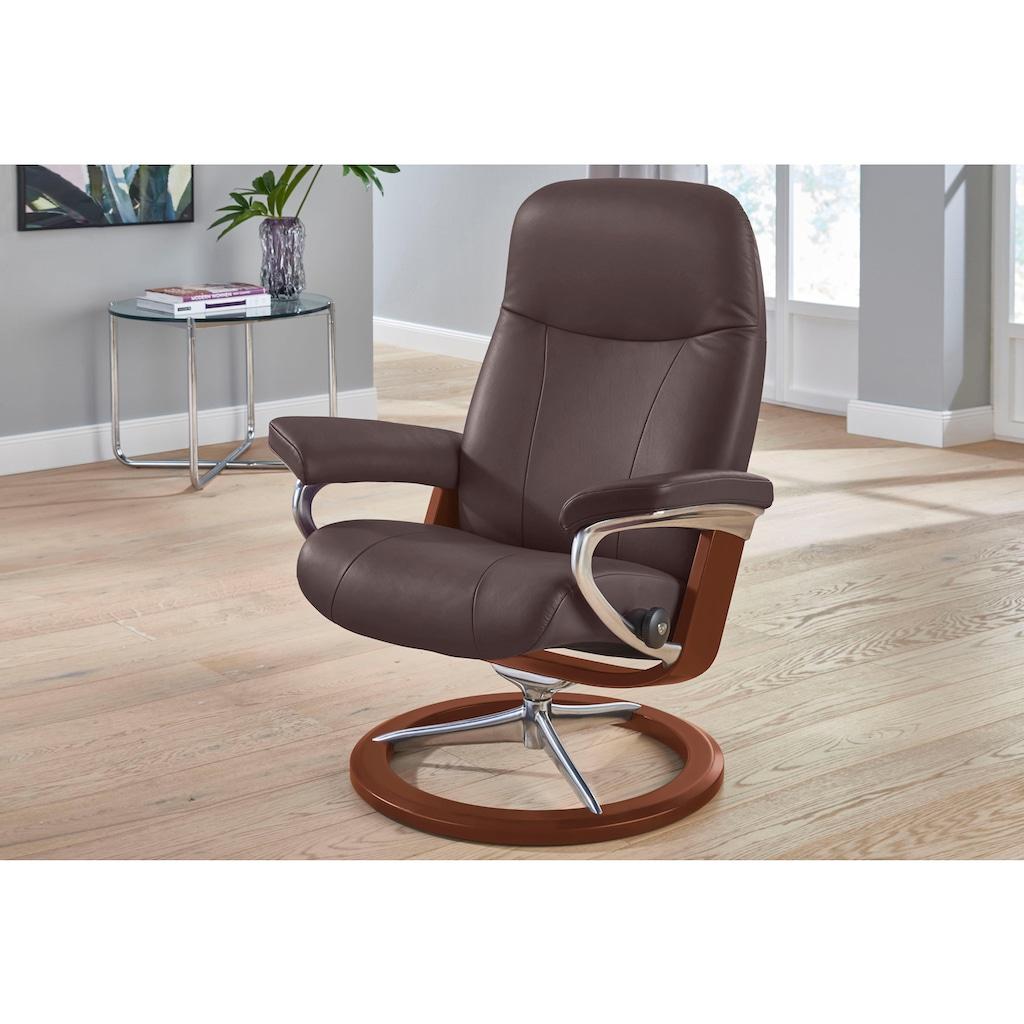 Stressless® Relaxsessel »Garda«, mit Signature Base, Größe M, Gestell Braun