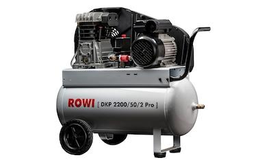 Rowi Kompressor »2200/50/2« kaufen