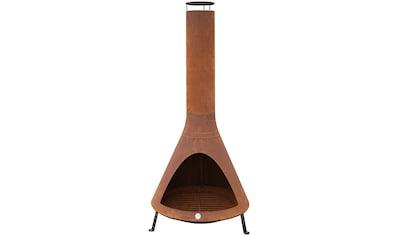 WESTMANN Feuerstelle »LG 900«, mit Rauchablass, BxTxH: 70x70x160 cm kaufen