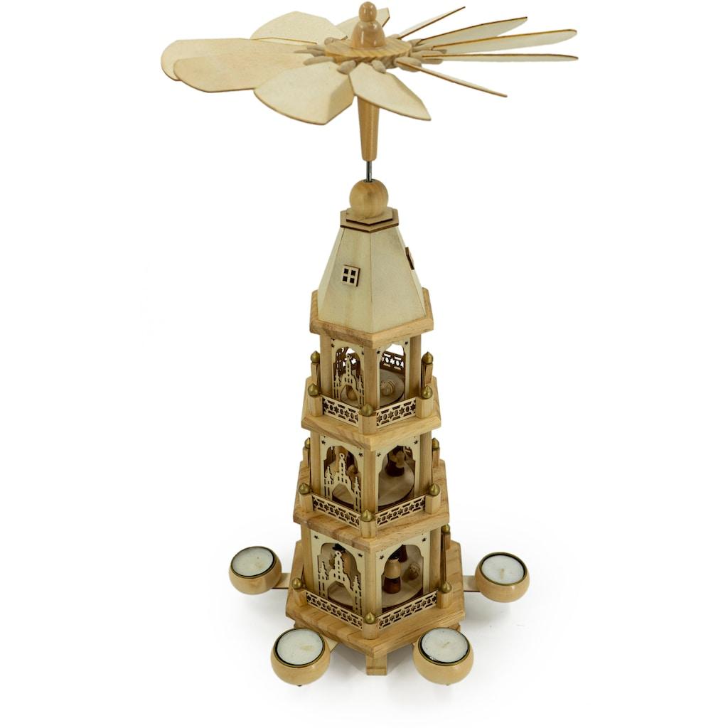 NOOR LIVING Weihnachtspyramide »Bethlehem«