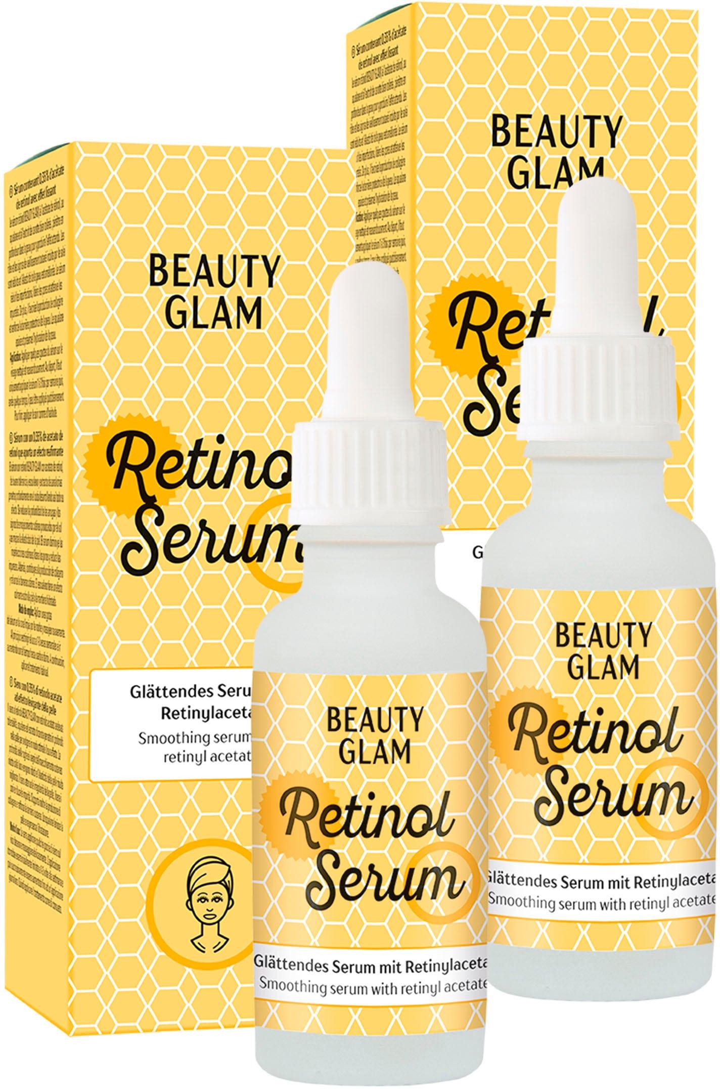 beauty glam -  Gesichtspflege-Set Retinol Serum, (2 tlg.)