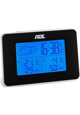 ADE Funkwetterstation »WS1711«, (mit Außensensor), mit 12h/24h Vorhersage, LCD-Display kaufen