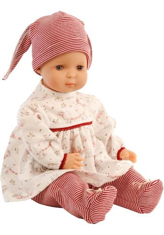 Schildkröt Manufaktur Babypuppe »Schlenkerle, rot/weiß«, Made in Germany kaufen