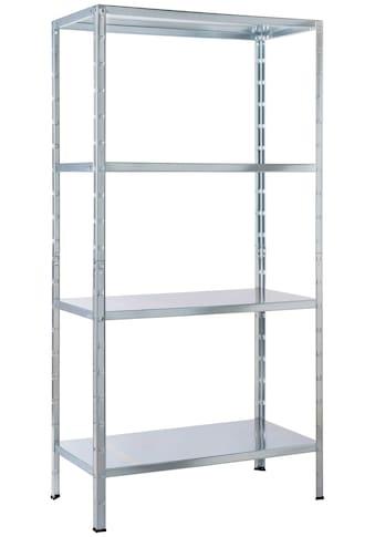 Steckregal »Haushaltsregal«, B/T/H: 75x30x137 cm kaufen
