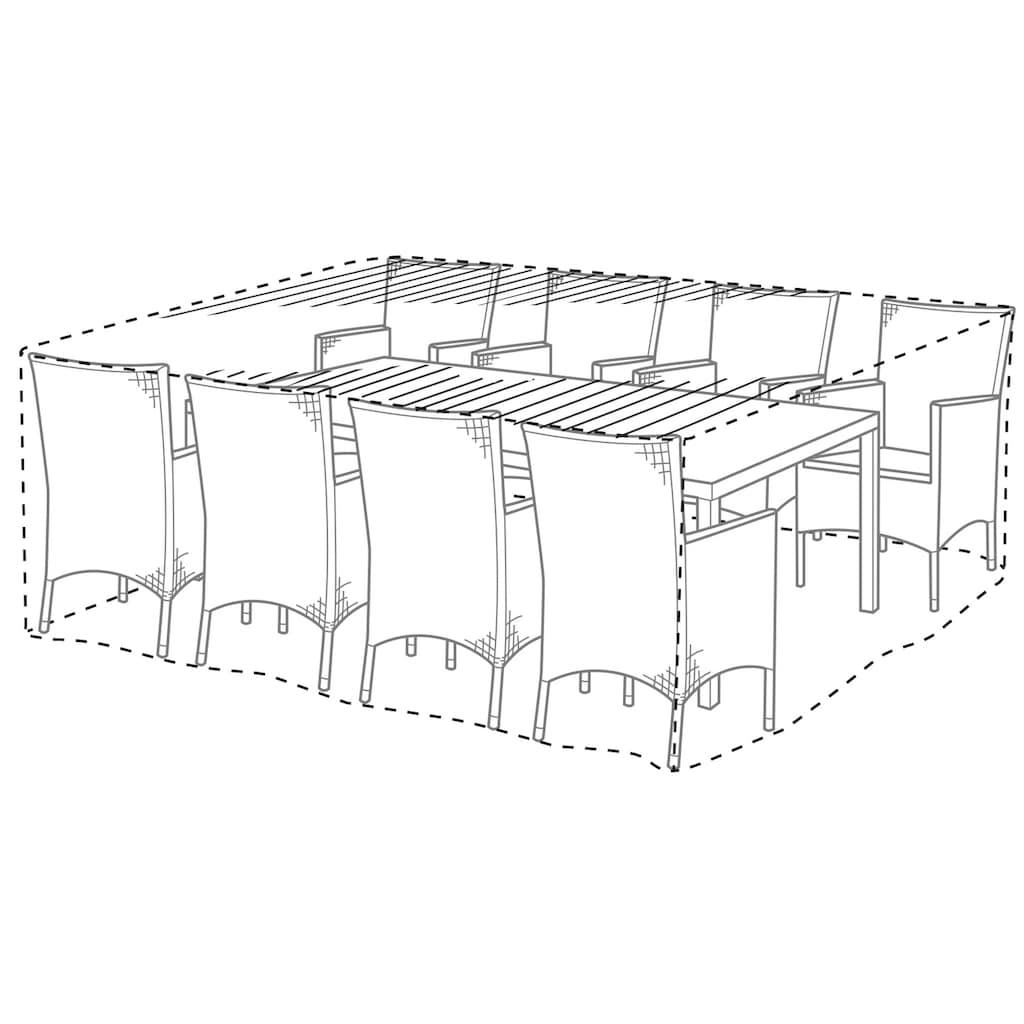 KONIFERA Gartenmöbel-Schutzhülle, LxBxH: 240x180x90 cm